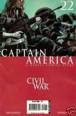 Captain America #22 NM    Civil War