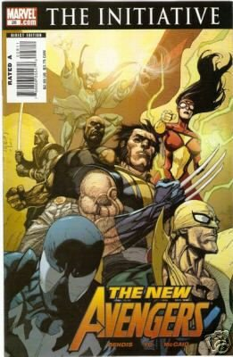 New Avengers #28  Initiative starts here