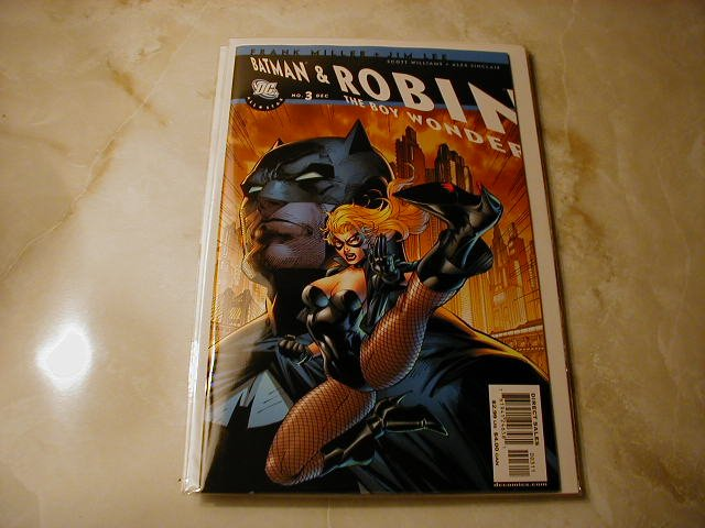 All Star Batman and Robin #3 NM