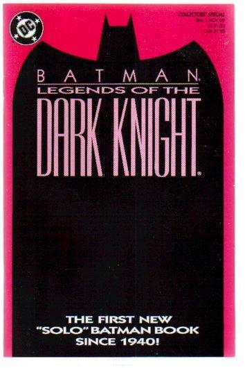 BATMAN LEGENDS OF THE DARK KNIGHT #1 PINK COVER