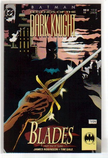 BATMAN LEGENDS OF THE DARK KNIGHT #32