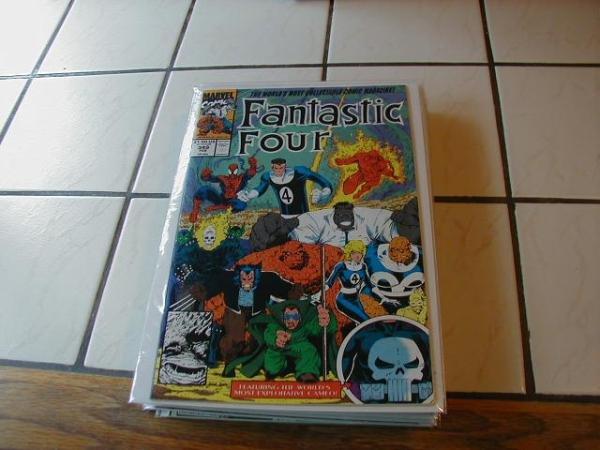 FANTASTIC FOUR #349 WOLVERINE SPIDER-MAN HULK