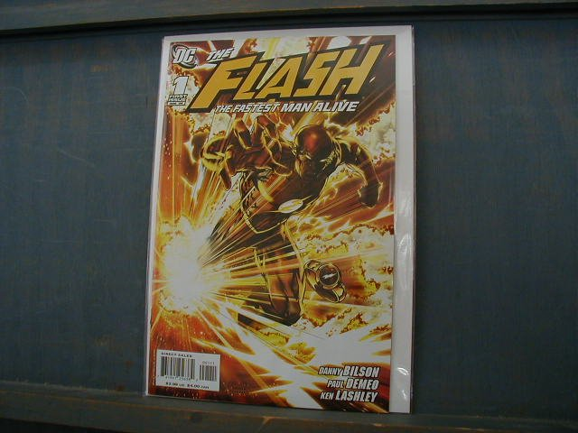 FLASH THE FASTEST MAN ALIVE #1 (2006)NM *SALE*