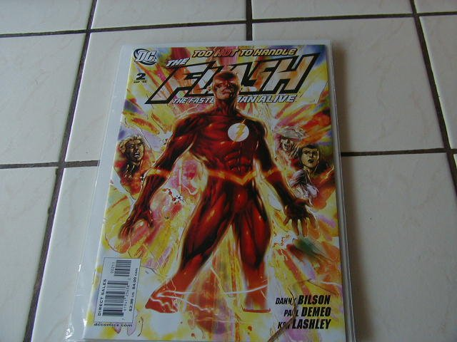FLASH THE FASTEST MAN ALIVE #2 (2006)NM