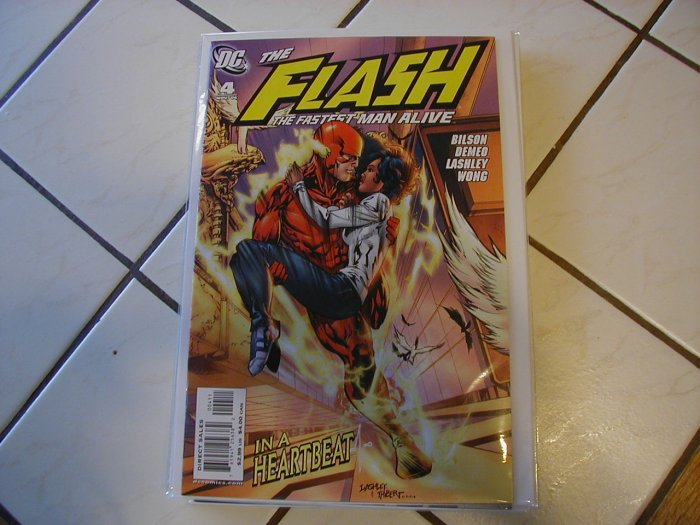 FLASH THE FASTEST MAN ALIVE #4 (2006)NM