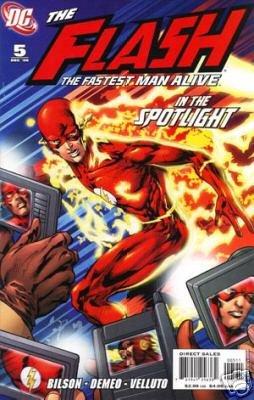 FLASH THE FASTEST MAN ALIVE #5 (2006)NM