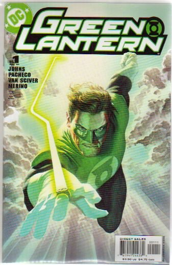 GREEN LANTERN #1A NM ALEX ROSS COVER (2006)