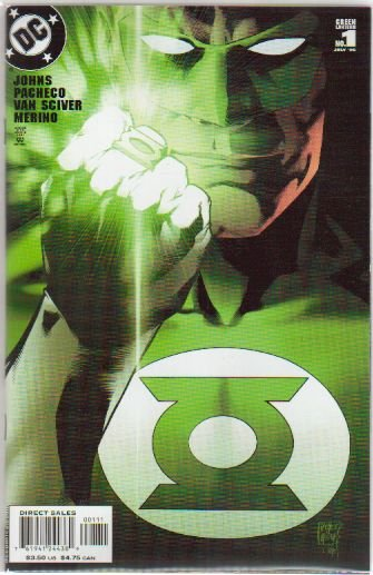 GREEN LANTERN #1B  NM Alternate cover (2006)