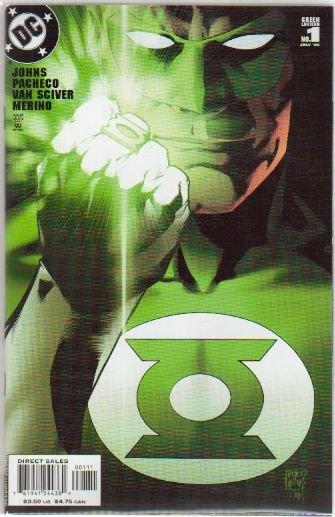 GREEN LANTERN #1B  NM Alternate cover (2006)