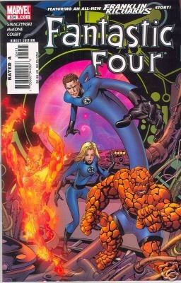 FANTASTIC FOUR #534 NM HULK!!