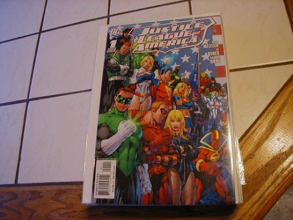 JUSTICE LEAGUE OF AMERICA #1A NM (2006)