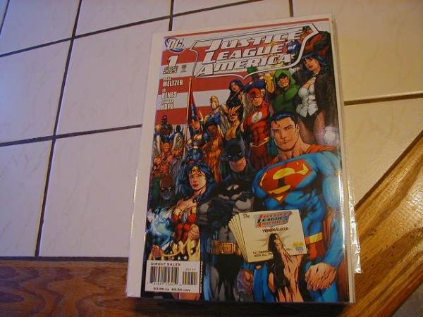 JUSTICE LEAGUE OF AMERICA #1B NM (2006)