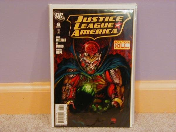 JUSTICE LEAGUE OF AMERICA #6 NM (2006)