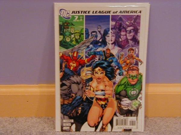 JUSTICE LEAGUE OF AMERICA #7 NM (2006)WONDER WOMAN COVER