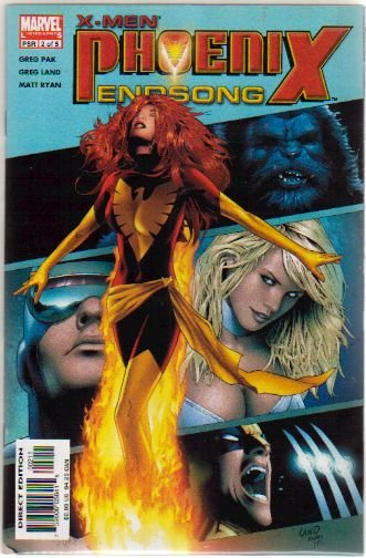 X-MEN PHOENIX ENDSONG #2 NM