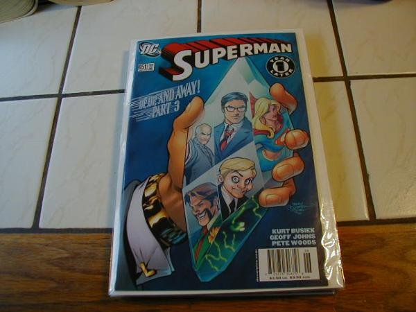 SUPERMAN #651 NM ONE YEAR LATER