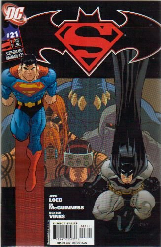 SUPERMAN BATMAN #21 NM
