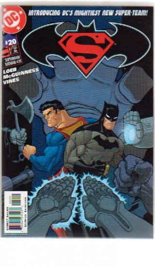 SUPERMAN BATMAN #20 NM
