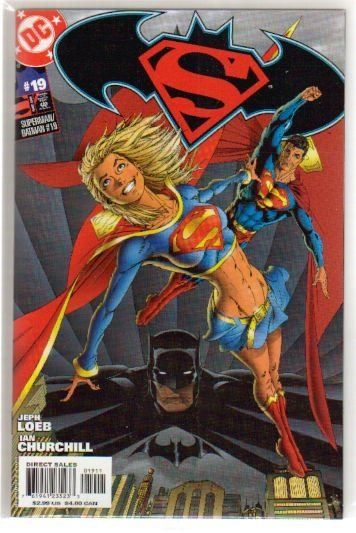 SUPERMAN BATMAN #19 NM **SUPERGIRL**
