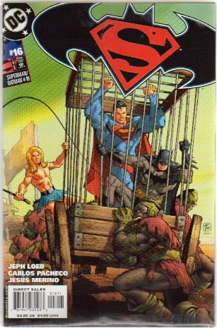 SUPERMAN BATMAN #16 NM