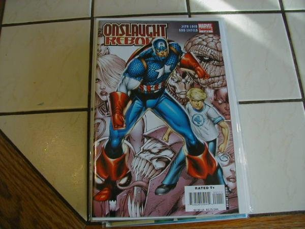 ONSLAUGHT REBORN #1B REGULAR COVER NM