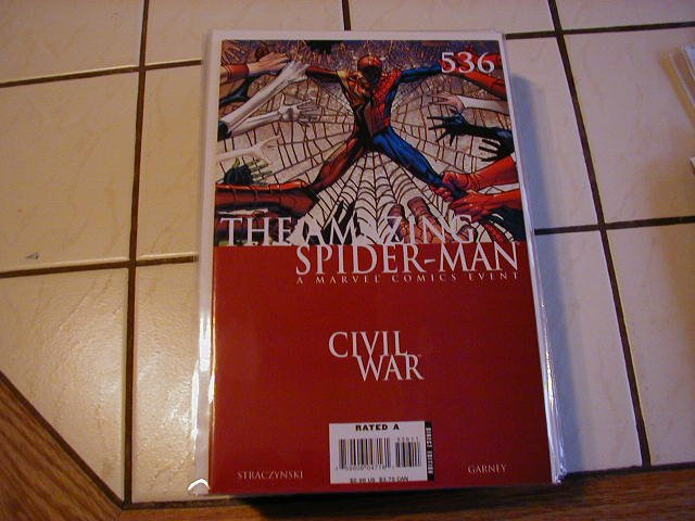 Amazing Spider-man #536