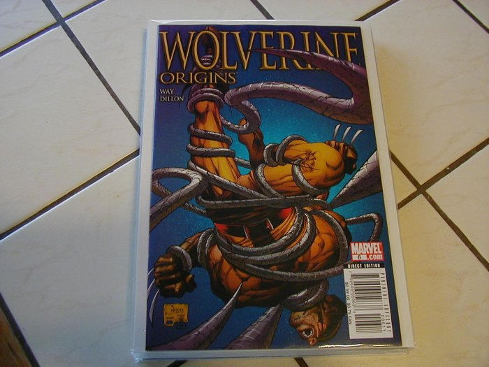 WOLVERINE ORIGINS #6 NM REGULAR ED