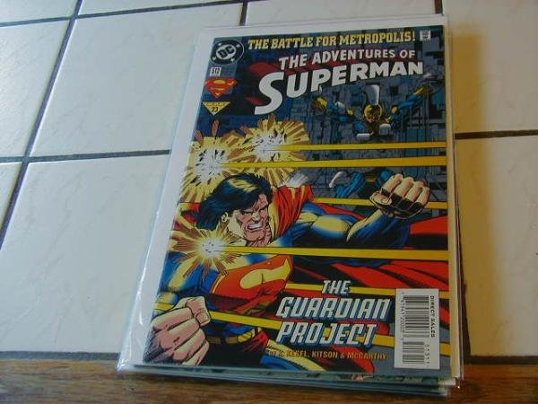 ADVENTURES OF SUPERMAN #513