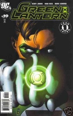 GREEN LANTERN #10 NM  ONE YEAR LATER