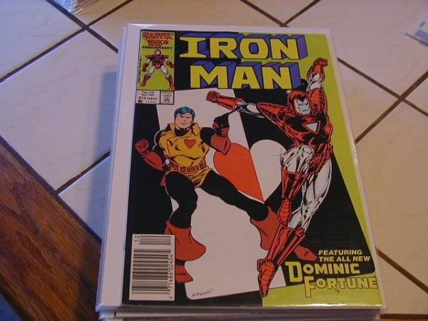 IRON MAN #213 (1967)