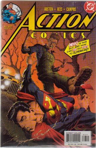 ACTION COMICS #823 VF/NM
