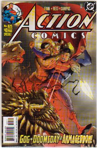 ACTION COMICS #825 VF/NM