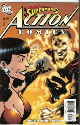 ACTION COMICS #828 VF/NM