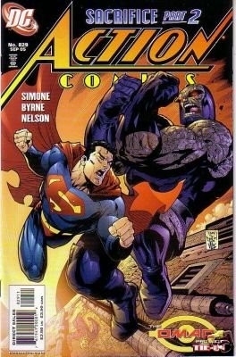 ACTION COMICS #829 VF/NM
