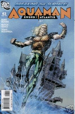 AQUAMAN SWORD OF ATLANTIS #43 NM
