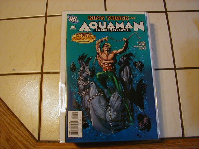 AQUAMAN SWORD OF ATLANTIS #46 NM