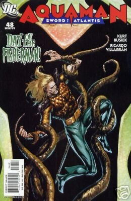 AQUAMAN SWORD OF ATLANTIS #48 NM