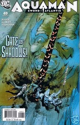 AQUAMAN SWORD OF ATLANTIS #49 NM