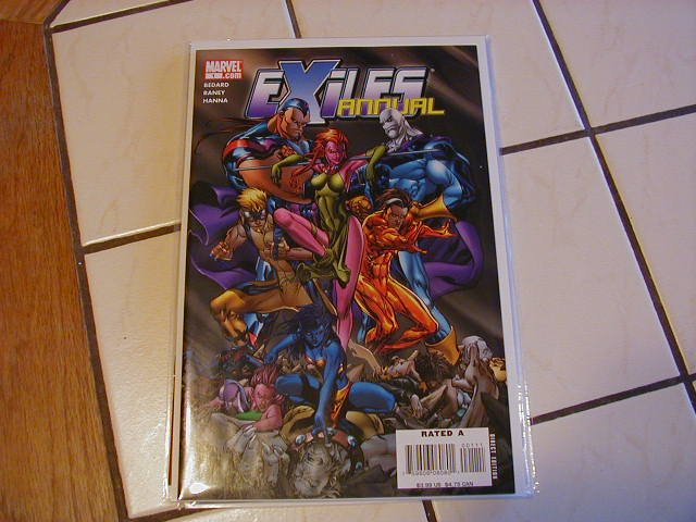 EXILES ANNUAL #1