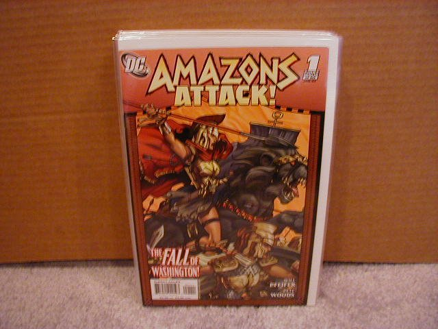 AMAZONS ATTACK #1 NM