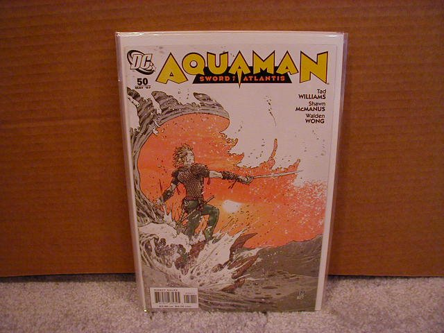 AQUAMAN SWORD OF ATLANTIS #50 NM