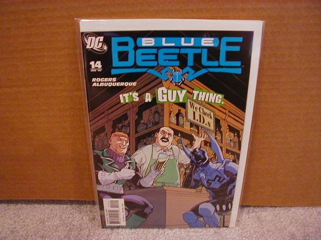 Blue Beetle #14 NM (2007)