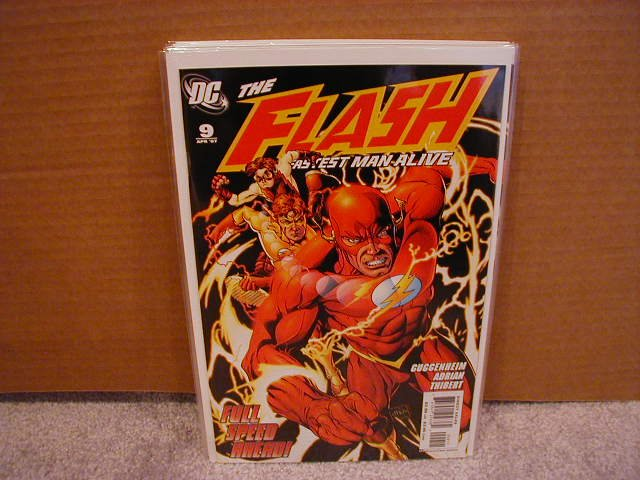 FLASH THE FASTEST MAN ALIVE #9 NM