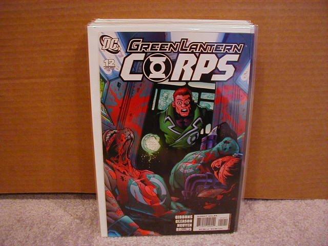 GREEN LANTERN CORPS #12 NM (2007)