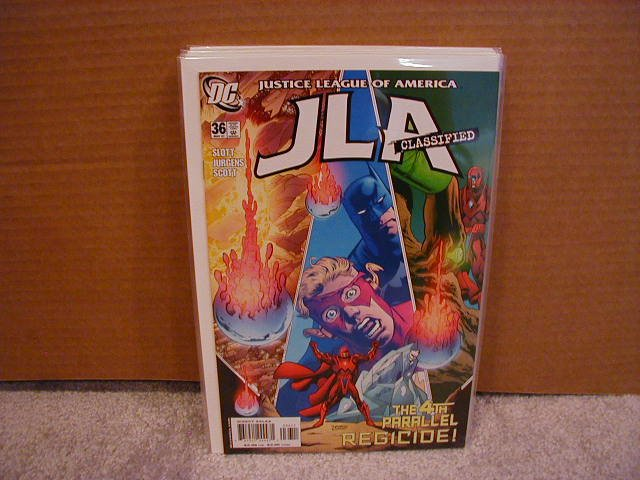 JLA CLASSIFIED #36 NM