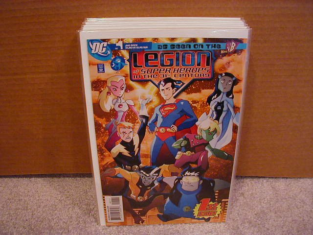 Legion of Superheroes #1 NM (2007)
