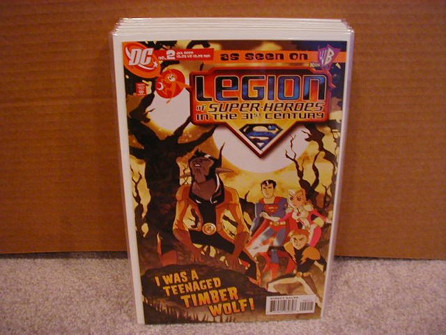 Legion of Superheroes #2 NM (2007)