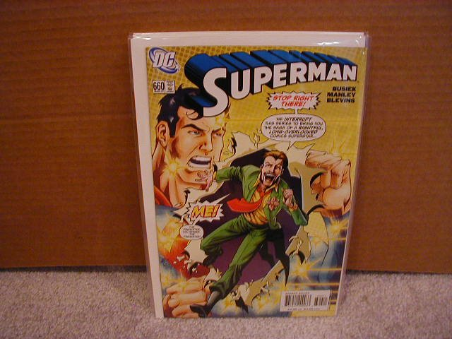 SUPERMAN #660 NM