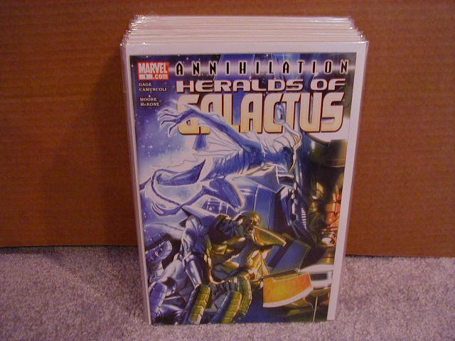 ANNIHILATION HERALDS OF GALACTUS ONE SHOT NM