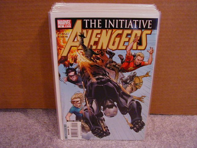 AVENGERS THE INITIATIVE #2 NM